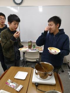 20191231年越し大特訓(昼食�K).jpg